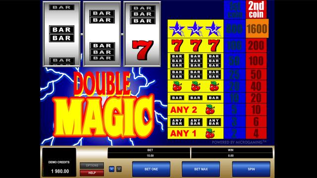 Бонусная игра Double Magic 5