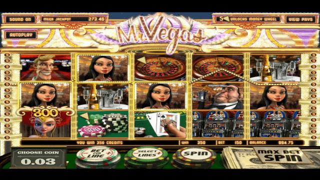Игровой интерфейс Mr. Vegas 8