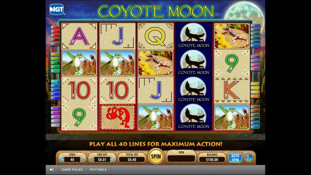 Игровой интерфейс Coyote Moon 1