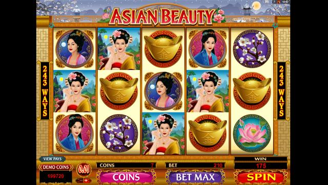 Бонусная игра Asian Beauty 9