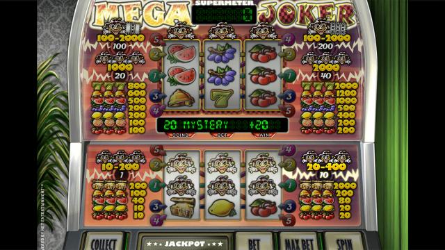 Бонусная игра Mega Joker by Netent 6