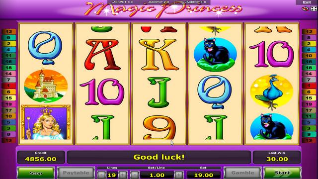 Игровой интерфейс Magic Princess 7
