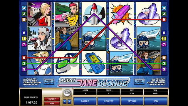 Игровой интерфейс Agent Jane Blonde 8