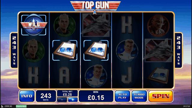 Бонусная игра Top Gun 2