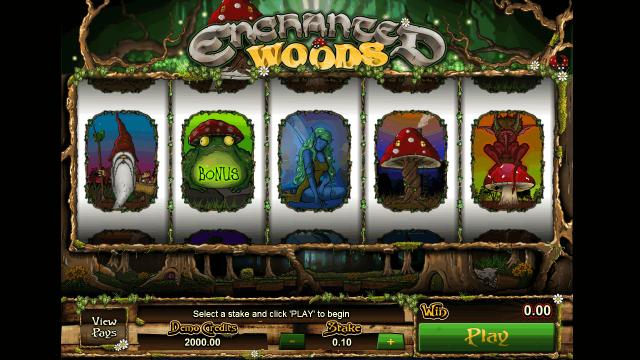Бонусная игра Enchanted Woods 1