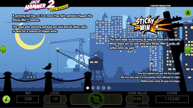 Игровой интерфейс Jack Hammer 2 4