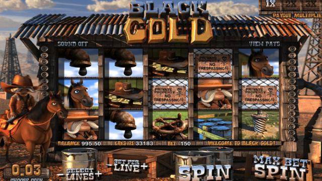 Бонусная игра Black Gold 1