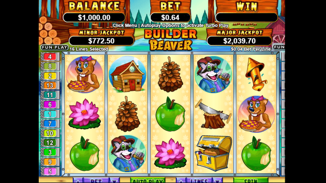 Игровой интерфейс Builder Beaver 1
