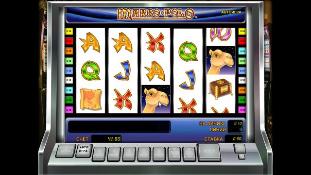 Игровой интерфейс Marco Polo 2