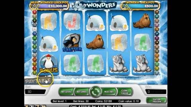 Бонусная игра Icy Wonders 1