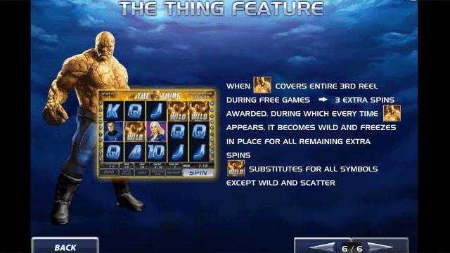 Игровой интерфейс Fantastic Four 6