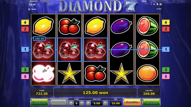 Игровой интерфейс Diamond 7 10