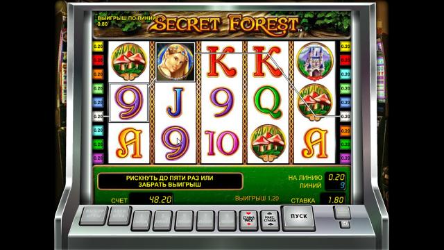 Характеристики слота Secret Forest 3
