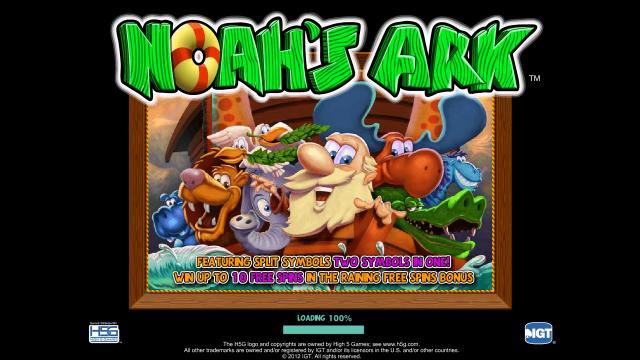 Игровой интерфейс Noah's Ark 1