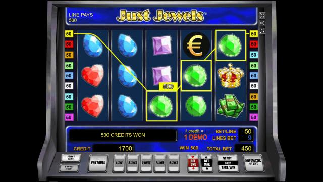 Игровой интерфейс Just Jewels 5