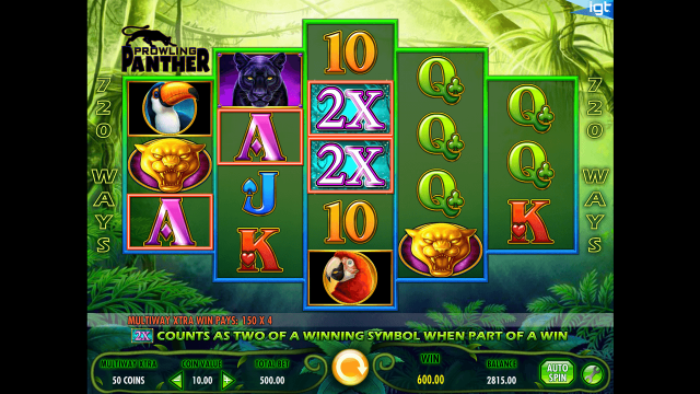 Игровой интерфейс Prowling Panther 10