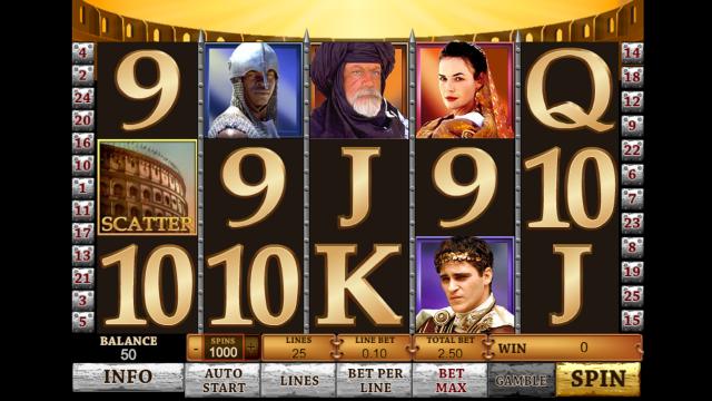 Игровой интерфейс Gladiator 1