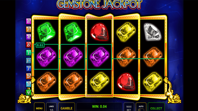 Бонусная игра Gemstone Jackpot 1