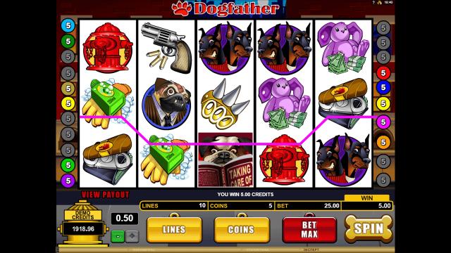 Бонусная игра Dogfather 7