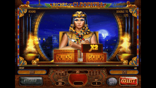 Бонусная игра Riches Of Cleopatra 7