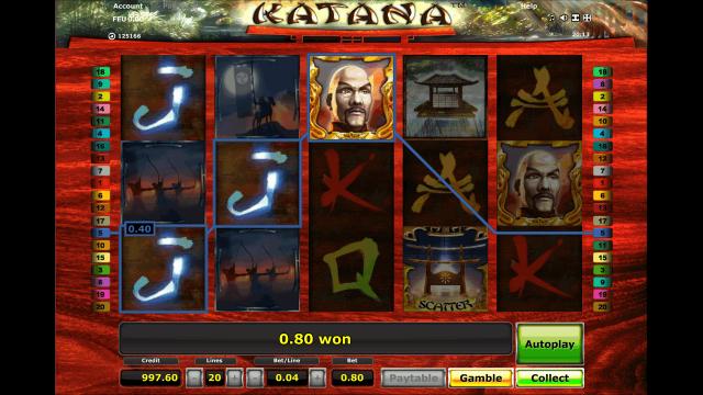 Игровой интерфейс Katana 3