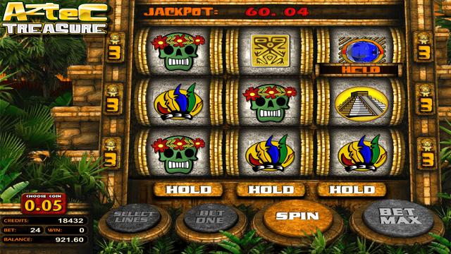 Характеристики слота Aztec Treasure 2D 10