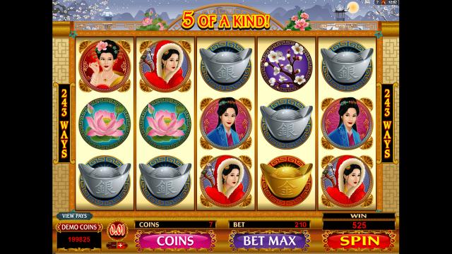 Бонусная игра Asian Beauty 8