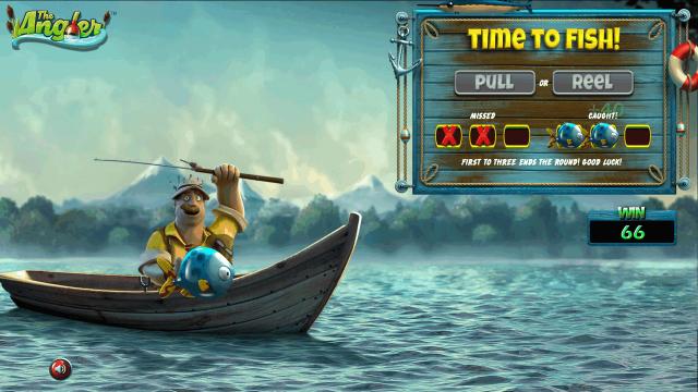 Бонусная игра The Angler 2