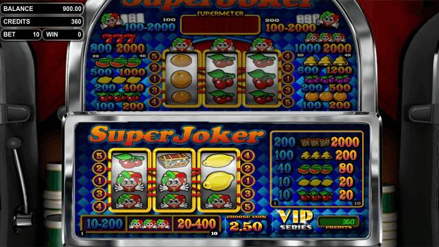 Бонусная игра Super Joker VIP 4