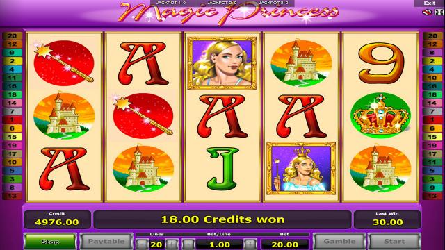Бонусная игра Magic Princess 9