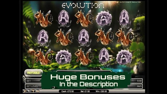 Бонусная игра Evolution 5