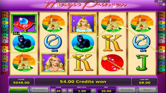 Игровой интерфейс Magic Princess 8