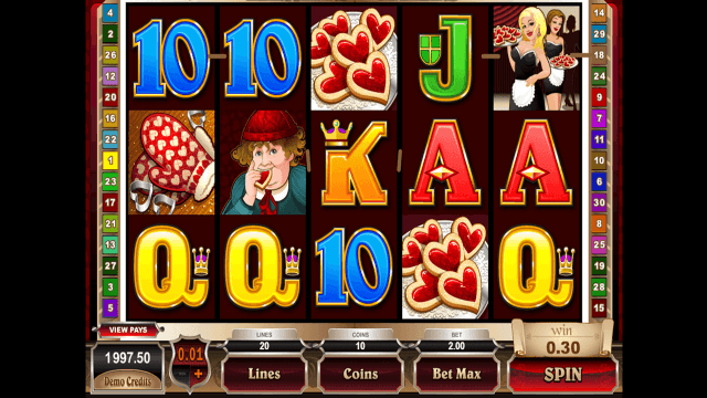 Бонусная игра Rhyming Reels Queen Of Hearts 9