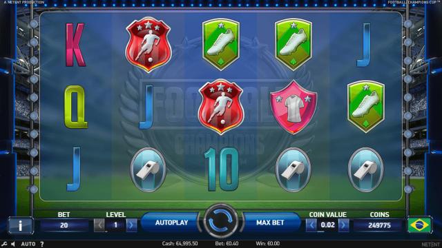 Бонусная игра Football Champions Cup 9