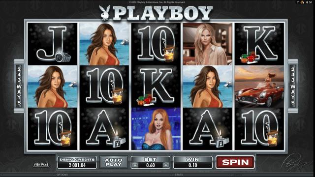 Игровой интерфейс Playboy 3