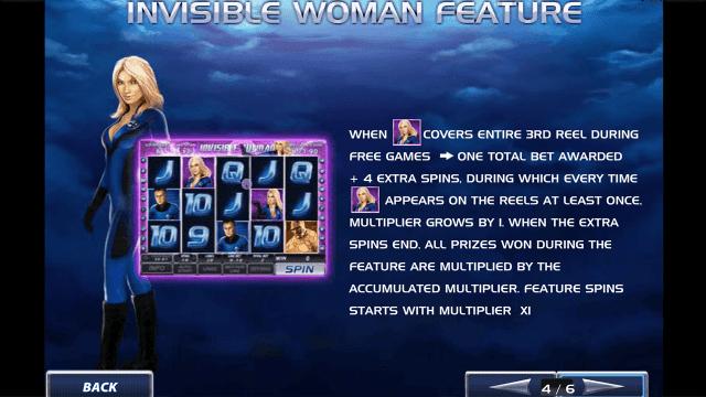 Игровой интерфейс Fantastic Four 5