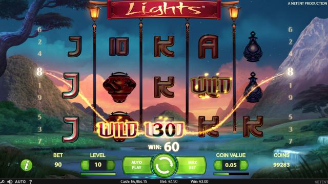 Бонусная игра Lights 3