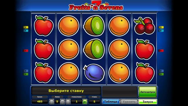 Характеристики слота Fruits' N Sevens 6