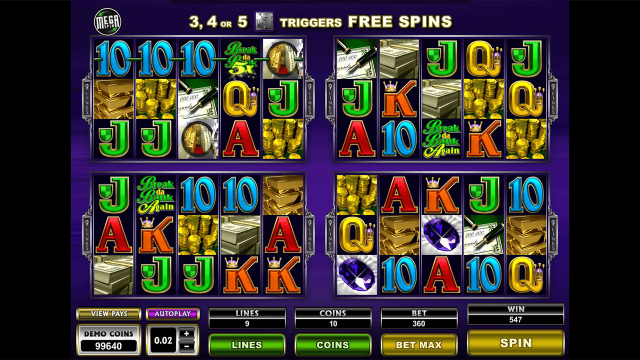 Бонусная игра Mega Spins Break Da Bank Again 2