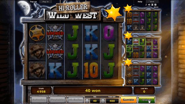 Бонусная игра Wild West 9