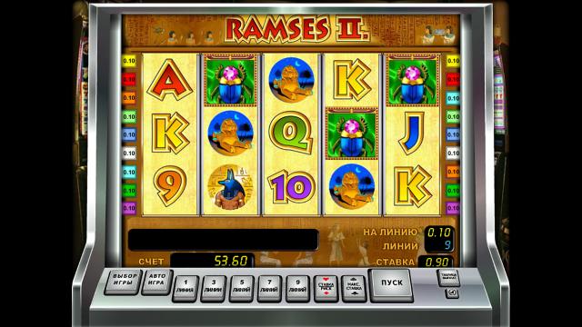 Бонусная игра Ramses II 1