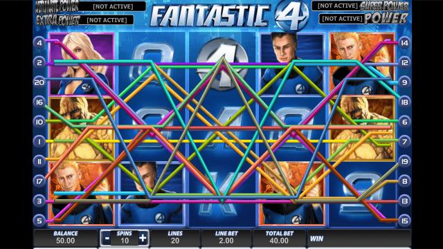 Бонусная игра Fantastic Four 1