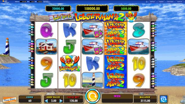 Бонусная игра Lucky Larry's Lobstermania 2 10