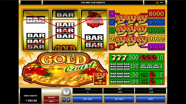 Бонусная игра Gold Coast 3
