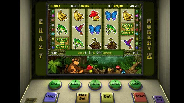 Игровой интерфейс Crazy Monkey 2 9