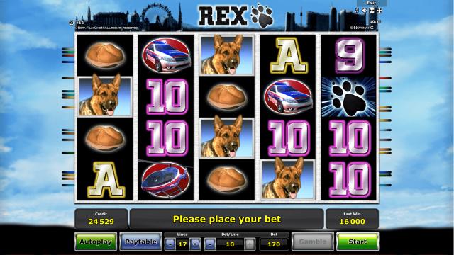 Характеристики слота Rex 7
