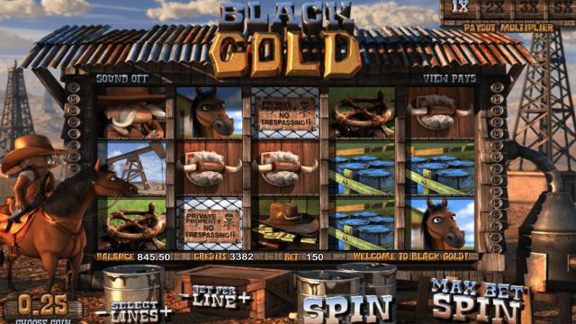 Игровой интерфейс Black Gold 6