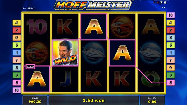 Игровой интерфейс Hoffmeister 8