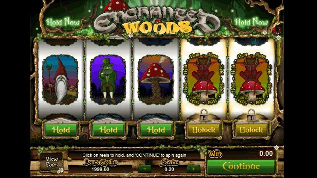 Игровой интерфейс Enchanted Woods 4