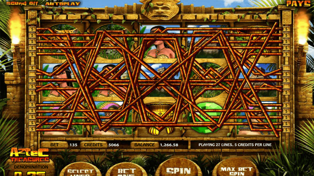 Бонусная игра Aztec Treasures 3D 10